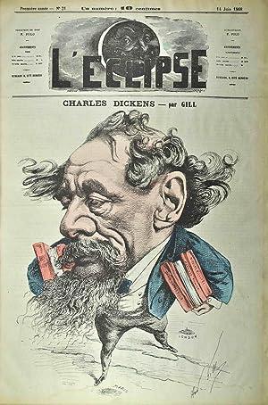 L'Éclipse. Journal hebdomadaire satirique illustré.