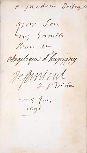 Traduction en vers Francois des Hymnes.: SANTEUL (Jean de);