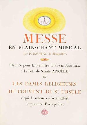 Archives de Pierre Daumas, imprimeur en lettres résidant à Pézenas. Pierre ...