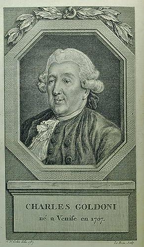 Mémoires de M. Goldoni, pour servir à l'Histoire de sa vie, et à celle de...