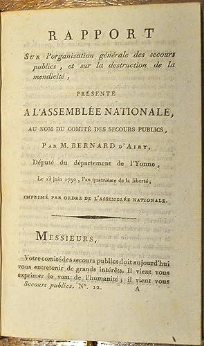 Convention Nationale. Comité des Secours Publics].