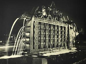 Décors éphémères. 1909-1948. Les expositions, jeux d'eau: GRANET (André);