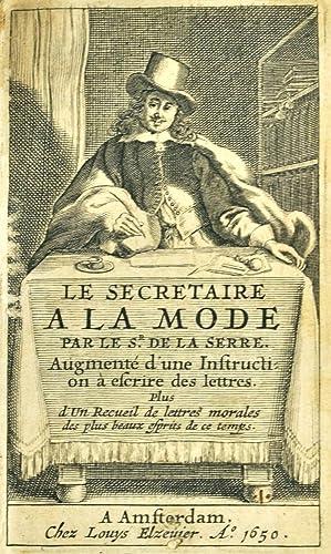 Le Secrétaire à la Mode, par le sieur de La Serre, augmenté d'une ...
