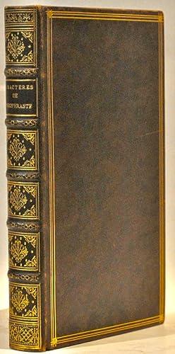 Les Caractères de Théophraste traduits du Grec,: LA BRUYERE (Jean