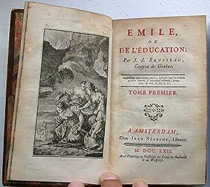 Emile, ou de L'Education, par J. J.: ROUSSEAU (Jean-Jacques);