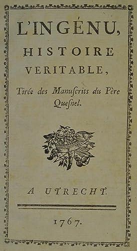 L'Ingénu, Histoire véritable, Tirée des Manuscrits du: VOLTAIRE (François-Marie Arouet