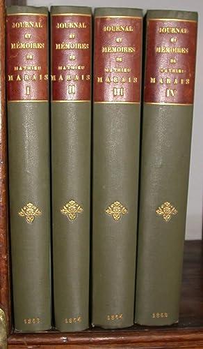 Journal et mémoires de Mathieu Marais, avocat au parlement de Paris, sur la Régence ...