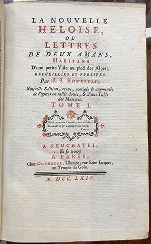 La Nouvelle Héloise, ou Lettres de deux: ROUSSEAU (Jean-Jacques).