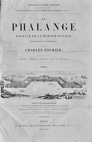Fouriérisme]. La Phalange. Journal de la Science sociale découverte et constitu&...