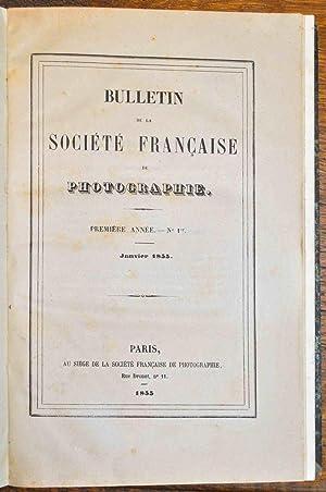 Bulletin de la Société française de photographie.