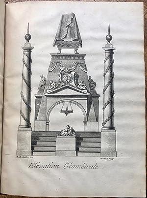 Bourgogne. Cathédrale Saint-Etienne de Sens]. Description du Mausolée pour Trè...