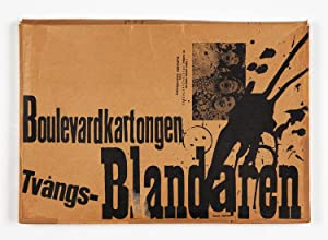Boulevardkartongen Tvångs-Blandaren [with paintings by Claes Oldenburg]
