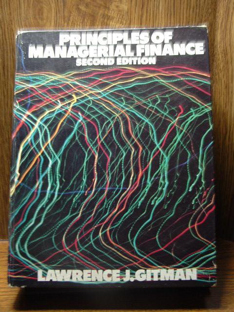 Financial Management Book By Gitman