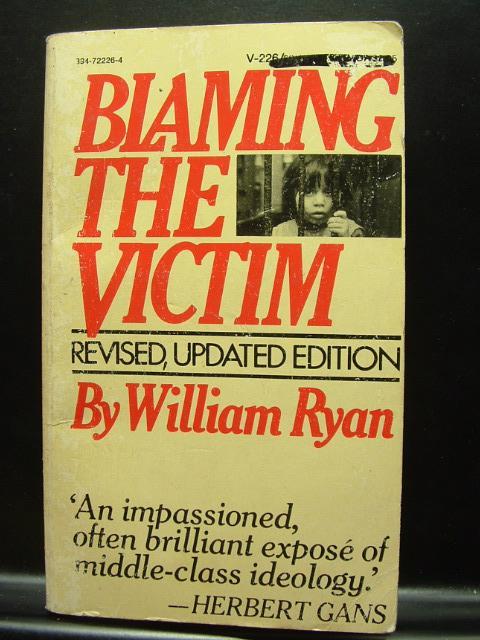 blaming the victim ryan