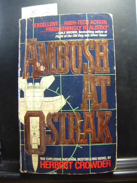 ambush at osirak a novel crowder herbert