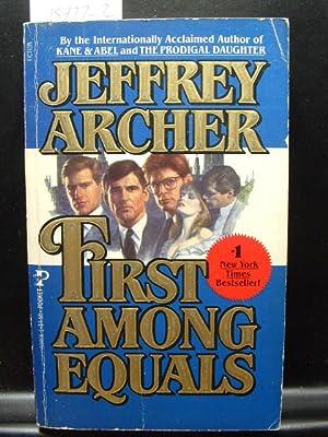 FIRST AMONG EQUALS/A MATTER OF HONOR: Archer, Jeffrey