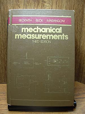 MECHANICAL MEASUREMENTS: Beckwith, Thomas G./