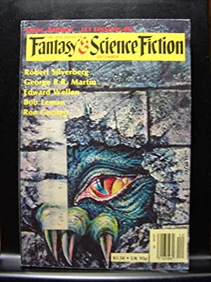 FANTASY AND SCIENCE FICTION - Dec, 1981