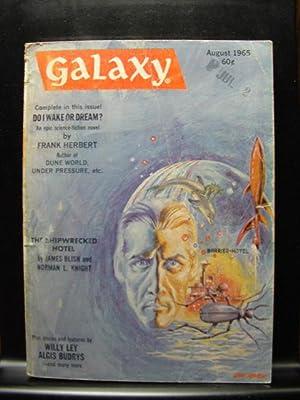 GALAXY SCIENCE FICTION - Aug, 1965: Frank Herbert ---