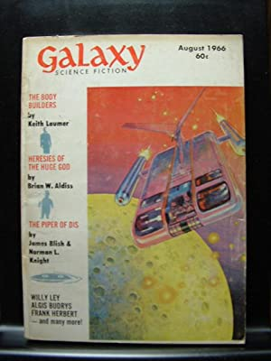 GALAXY SCIENCE FICTION - Aug, 1966: Keith Laumer ---