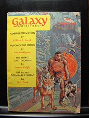 GALAXY SCIENCE FICTION - Apr, 1968: Joseph P. Martino