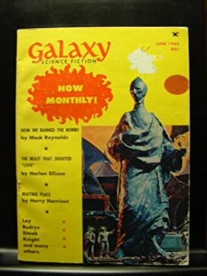 GALAXY SCIENCE FICTION - Jun, 1968: Harlan Ellison ---