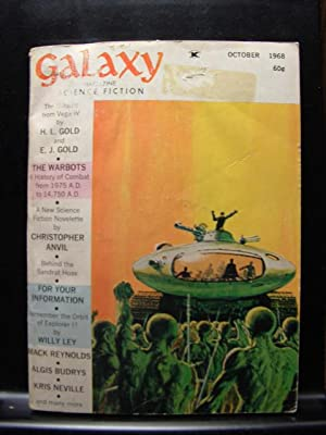 GALAXY SCIENCE FICTION - Oct, 1968: H. L. Gold