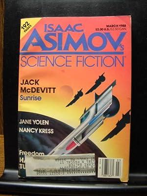 ISAAC ASIMOV'S SCIENCE FICTION - Mar, 1988: Harry Turtledove ---