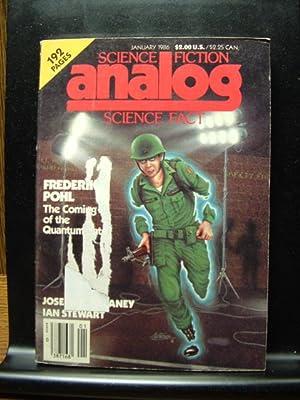 ANALOG - Jan, 1986: Frederick Pohl ---