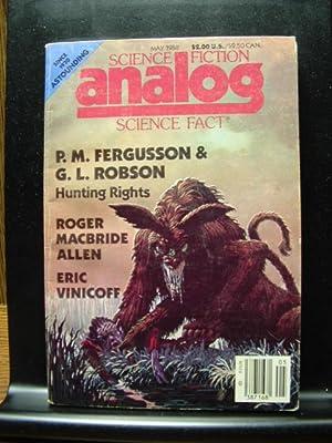ANALOG - May, 1988: P. M. Fergusson
