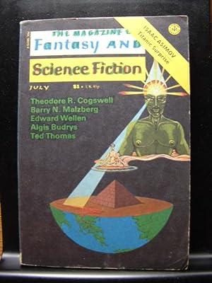 FANTASY AND SCIENCE FICTION - Jul, 1975: Edward Wellen ---