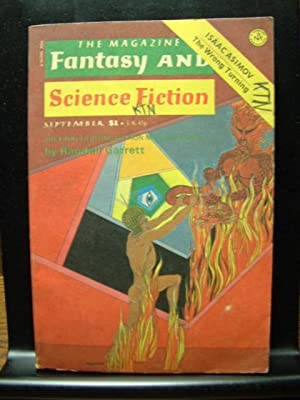 FANTASY AND SCIENCE FICTION - Sep, 1975