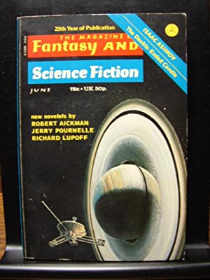 FANTASY AND SCIENCE FICTION - Jun, 1974: Jerry Pournelle ---