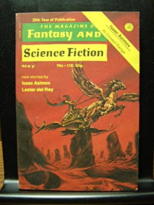 FANTASY AND SCIENCE FICTION - May, 1974