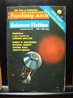 FANTASY AND SCIENCE FICTION - Feb, 1974