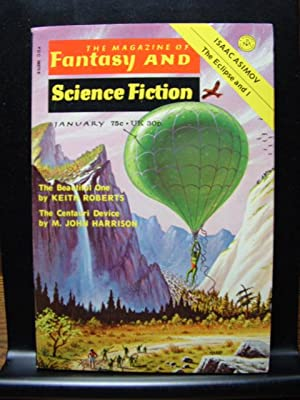 FANTASY AND SCIENCE FICTION - Jan, 1974