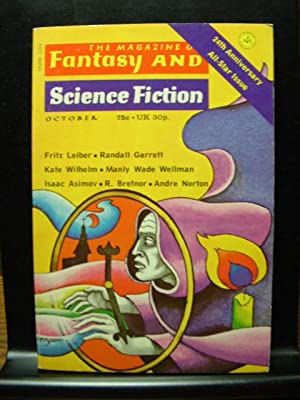 FANTASY AND SCIENCE FICTION - Oct, 1973