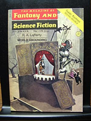 FANTASY AND SCIENCE FICTION - Dec, 1971