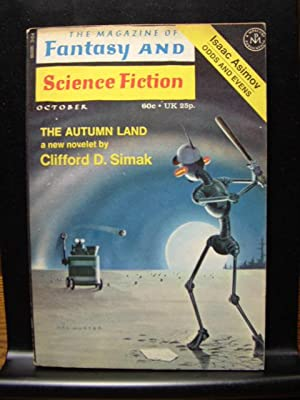 FANTASY AND SCIENCE FICTION - Oct, 1971: Clifford D. Simak