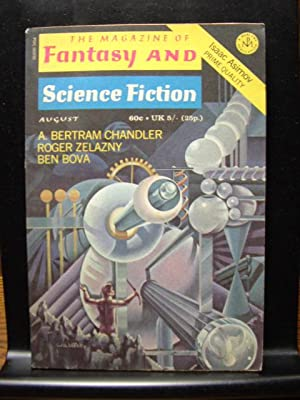 FANTASY AND SCIENCE FICTION - Aug, 1971