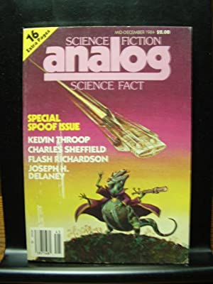 ANALOG - Mid-Dec, 1984: Flash Richardson ---