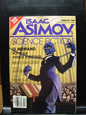 ISAAC ASIMOV'S SCIENCE FICTION - Feb, 1988: Harry Turtledove ---