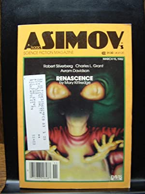 ISAAC ASIMOV'S SCIENCE FICTION - Mar 15,: Martin Gardner ---