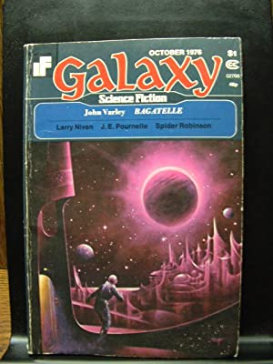 GALAXY SCIENCE FICTION - Oct, 1976: John Varley ---