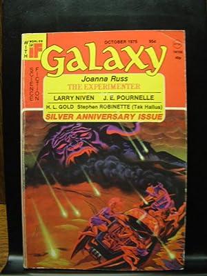 GALAXY SCIENCE FICTION - Oct, 1975: Joanna Russ ---
