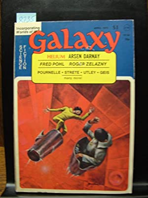 GALAXY SCIENCE FICTION - Apr, 1975: Arsen Darnay ---