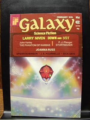 GALAXY SCIENCE FICTION - Feb, 1976: Larry Niven ---
