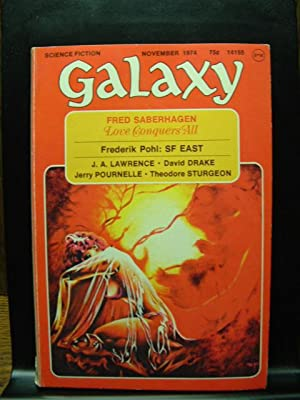 GALAXY SCIENCE FICTION - Nov, 1974: Fred Saberhagen ---