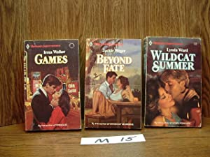 3 HARLEQUIN SUPERROMANCE/ROMANCE BUNDLE (M15): BEYOND FATE by