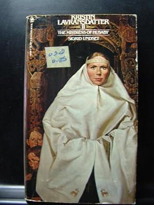 THE MISTRESS OF HUSABY: Kristin Lavransdatter, Vol.: Undset, Sigrid